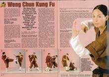 Budo International Coverstory Weng Chun 6 1/2 Prinzipien