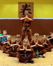Kinder Kung Fu Trainingsanzug